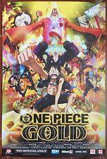 Affiche ONE PIECE FILM GOLD Hiroaki Miyamoto 40x60cm *