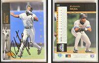 Roberto Mejia Signed 1994 Upper Deck #105 Card Colorado Rockies Auto Autograph