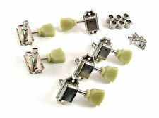 Gotoh SD90-MG Vintage Locking 3x3 Deluxe NICKEL TUNERS for Gibson Les Paul