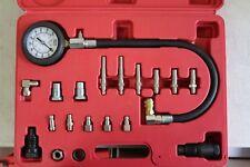19PC Diesel Cylinder Compression Pressure Meter Engine Testing Gauge Test Kit#62