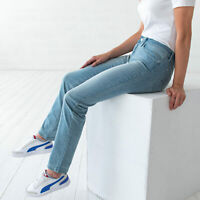 Levi's 712 Slim Blau Damen Jeans DE 38 / US W30 L32