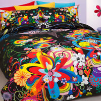 Reilly Hearts & Flowers Duvet | Doona Quilt Cover Set | Funky Bedding | Single