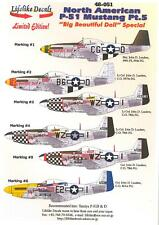 Lifelike Decals 1/48 NORTH AMERICAN P-51 MUSTANG Part 5 BIG BEAUTIFUL DOLL