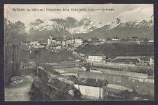 BELLUNO CITTÀ 57 INVERNO Cartolina viaggiata 1915