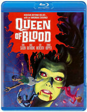 QUEEN OF BLOOD (JOHN SAXON) - BLU RAY - Region A - Sealed
