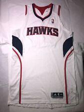 "Atlanta Hawks Adidas Revolution 30 Authentic Jersey Blank 2XL +2"" Length"