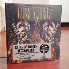 "NEW SEALED! Guns N' Roses ""1987-2011"" 9CD+2DVD Japan Edition Box Set"