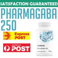 Thorne Research PharmaGABA-250 Natural GABA Gamma-Aminobutyric Acid Sleep Aid