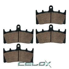 Front Brake Pads For Suzuki GSX-R750 GSXR750 1996 1997 1998 1999