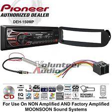 VW Pioneer Car Radio Stereo CD Player Dash Install Mounting Kit Harness Antenna