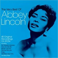 Abbey Lincoln Very Best Of 2-CD NEW SEALED 2020 Jazz Ain't Nobody's Business+