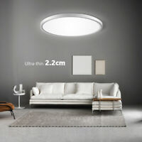 LED Modern Ceiling Light Home Bedroom Hallway Panel Disk Lamp Lighting Fixture
