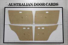 Chrysler Galant Door Cards. Blank Masonite Trim Panels. Sedan, Wagon A112 - A115