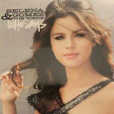 Selena Gomez & The Scene - Who Says - Promo CD - 2011 - BVPR003332