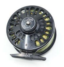 Abel Super 5 Black Fly Fishing Reel