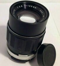 Soligor Tele-Auto 135mm f/3.5 Prime Camera Lens Fits M42 Mount
