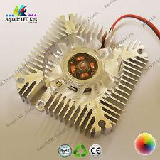 Disipador térmico de alta potencia Biela Con Ventilador 3w, 5w, 10w LED refrigeración, 12V CPU, bricolaje, Reino Unido