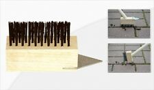 Unkraut-Fugenbürste Fugenkratzer mit Stahlborsten incl. 130 cm Holzstiel