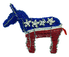 Hand Crafted Democratic Party Donkey