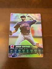 Johan Santana 2005 MLB Showdown Foil
