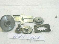 GARCIA Mitchell 411 HIGH SPEED GEAR SET COMPLETE UNUSED FRANCE REPAIR PARTS