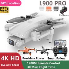 L900Pro Foldable GPS Smart Follow RC Mini Drone 5G WIFI 4K Brushless 1.2KM Range