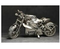 3D Metal model kit MOTORCYCLE Assembly Model DIY Laser Cut puzzle adult toys