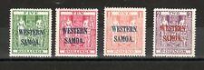 Samoa 1935-42 NZ Postal Fiscal WESTERN SAMOA opts MVLH
