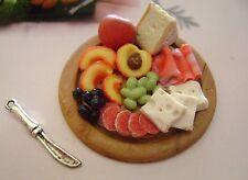 1 dolls house miniatures food tray maison de poupée Dolls house fimo^^