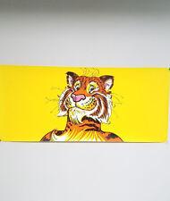 Vintage 1960's /70's Exxon Tiger Gasoline Petroliana Advertising Poster Sign NOS