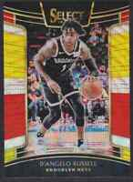 2018-19 PANINI SELECT TRI COLOR PRIZM D'ANGELO RUSSELL BROOKLYN NETS #74