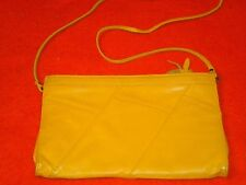 """Leather CLUTCH / SHOULDER / CROSS BODY BAG, measures about 12"""" by 7"""""""