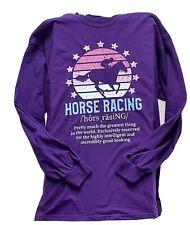 Horse Racing Xl, Purple, #139