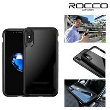 Rocco London TPU Shockproof 360 Tough Armour Bumper Case Cover for iPhone X 10