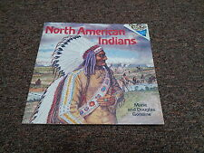 PLEASE READ TO ME,  RANDOM HOUSE PICTUREBACK  NORTH AMERICAN INDIANS 1977 1st ed