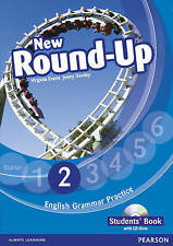 Pearson NEW ROUND-UP 2 English Grammar Practice STUDENT'S BOOK with CD-ROM @New@