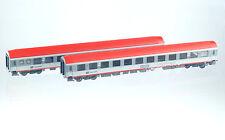 LS Models 48150 CD Set Nachtzug 2x 2. Kl. LiegeWagen grau/rot Ep5-6 H0 Neu+OVP
