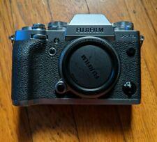 Fujifilm X-T3 26.1MP Digital Camera - Silver (Body Only) + Meike Grip