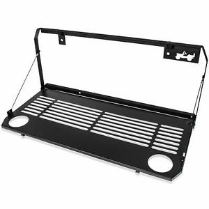 Tailgate Table Rear Door Foldable Table Storage for Jeep Wrangler JL 2018~2021
