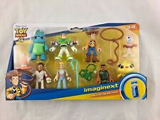 Imaginext - Toy Story 4 - Deluxe 8 Figure Pack - Woody - Forky - Buzz - Bo Peep