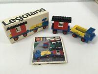 LEGO Legoland 646 Vintage Mobile Site Office Complete Instructions & Box RARE