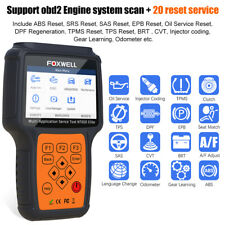 Automotive OBD2 Car Code Reader DPF ABS SRS TPMS Injector Coding Diagnose Tool