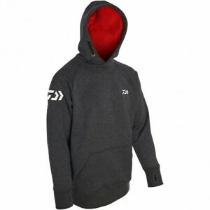 Daiwa Match Hoodies Grey / Red SIZE LARGE  MH-GR-L  RRP£59.99