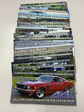 Rock Auto Magnetic 23 PCs Varied Numbers, No Repeat. First 1 Last 329