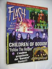 FLASH METAL MAGAZINE #144 - CHILDREN OF BODOM - THEATRE OF TRAGEDY - ICED EARTH