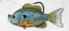 "LIVETARGET Sunfish Swimbait 1/2 oz ""Natural Blue Pumpkinseed"""