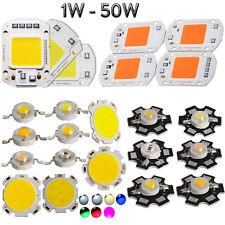 1x 10x Led Lamp Bulb Chips 1w 50w For Floodlight High Power Light Beads Gl0082