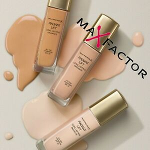 MAX FACTOR RADIANT LIFT FOUNDATION~Please Choose Shade