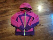 LULULEMON ivivva girls remix hoodie 10 thumbholes pink and purple