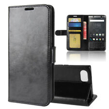 Retro Leather Wallet Stand Holder Phone Case Cover For BlackBerry KEYone DTEK70